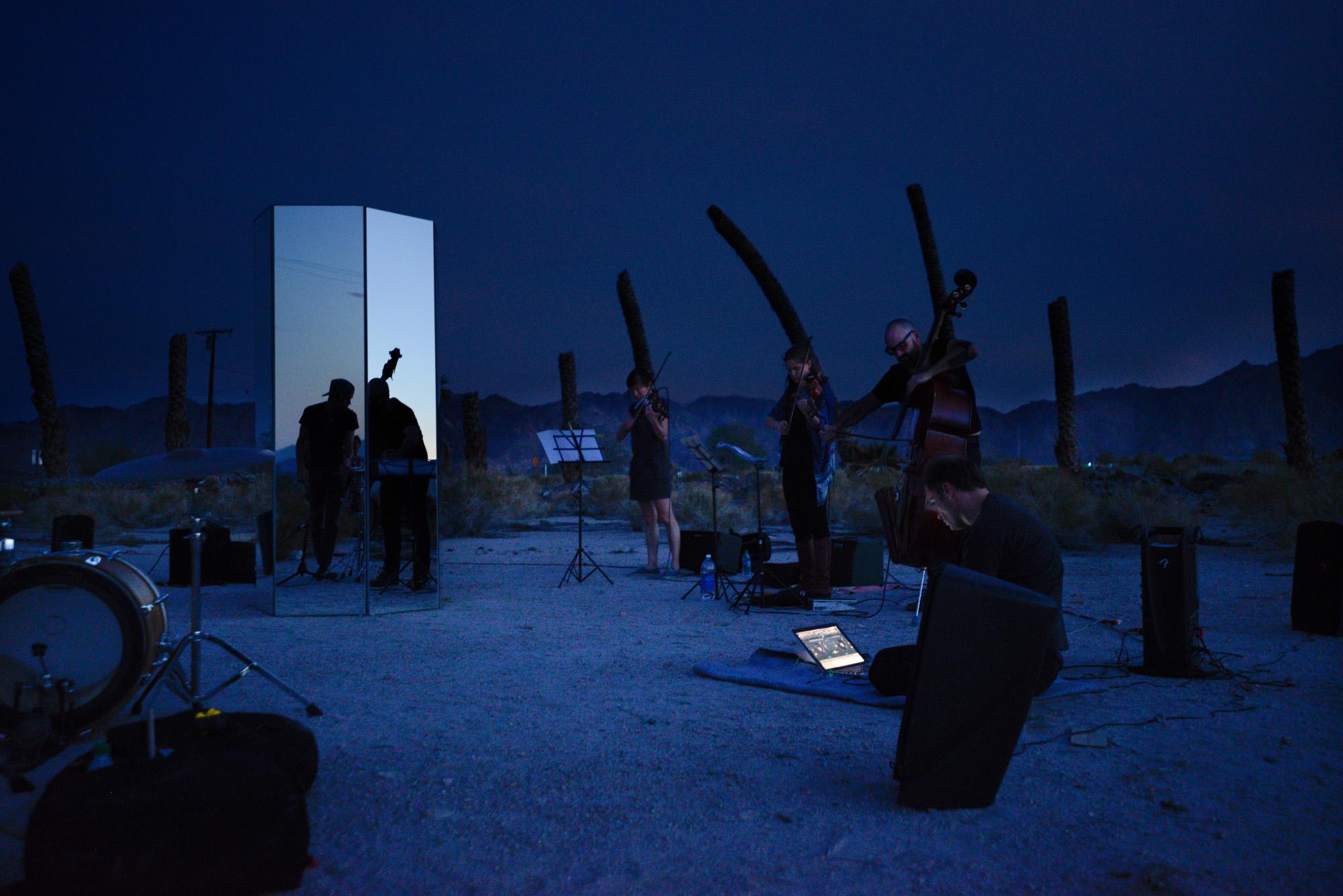 Performance by Scott Benzel, Desert Center (Composition I10 Mvmt IV: Dusk)