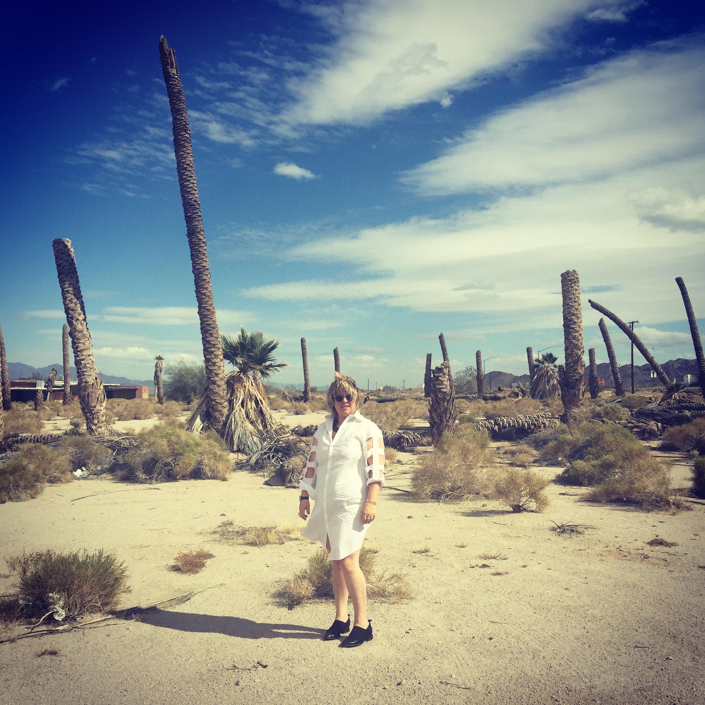 Zoe Crosher, Palm Frond Circle, Desert Center, CA