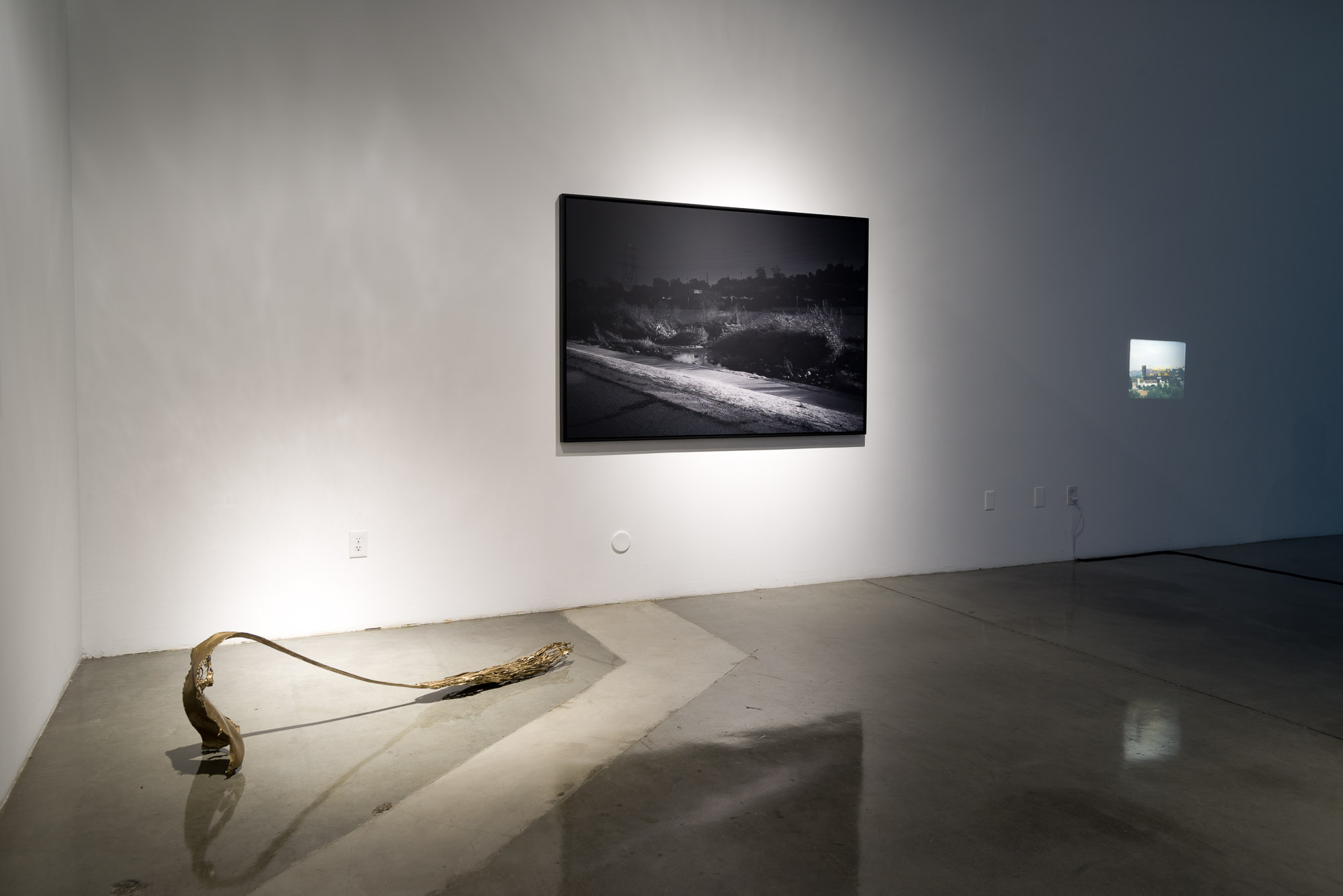 Installation view, Staging Los Angeles: Reality, Fantasy, and the Space Between, USC Roski School of Art and Design, Los Angeles, CA, November 2015