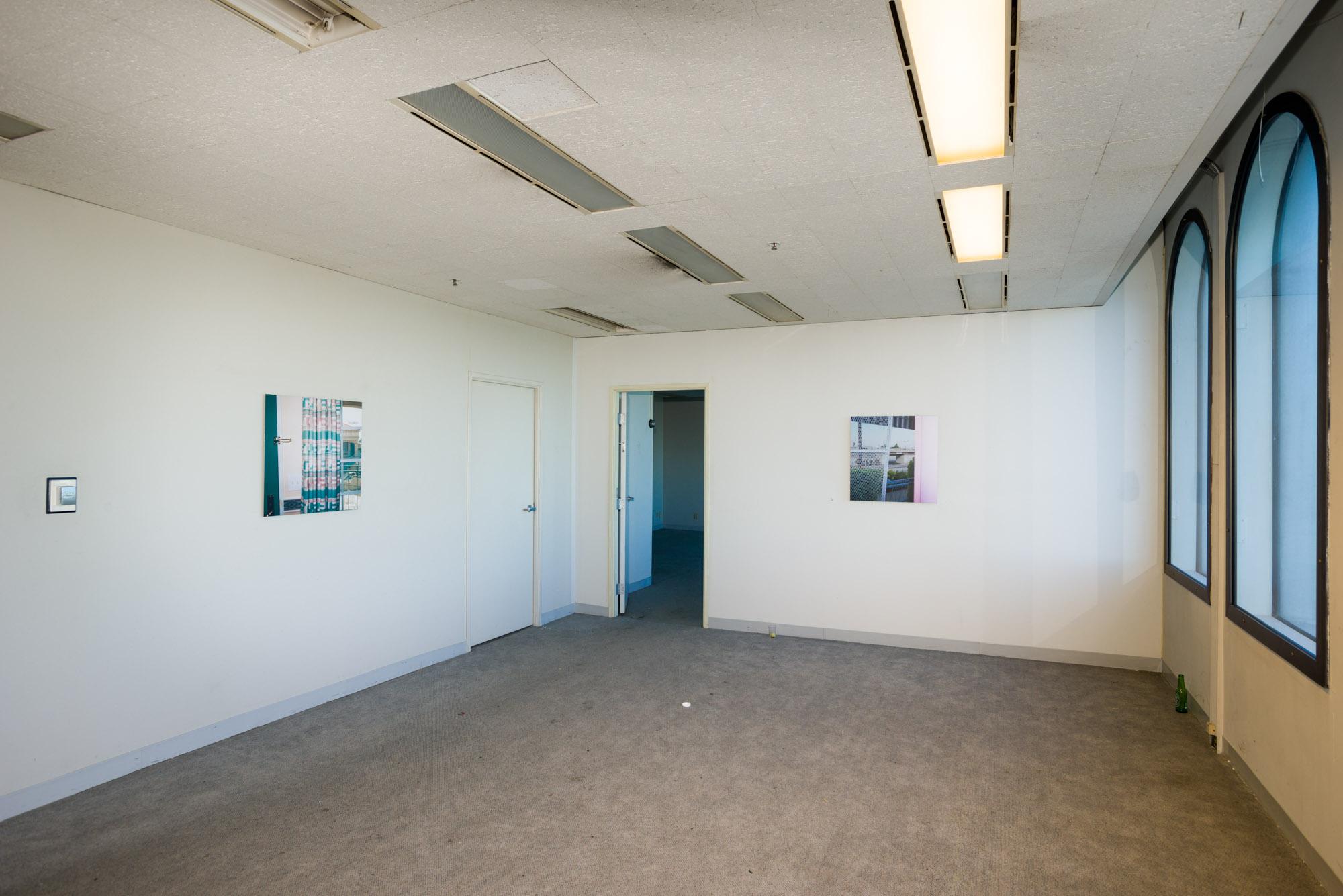 Installation view, 9800, 9800 S. Sepulveda Blvd., Los Angeles, CA, October 2015