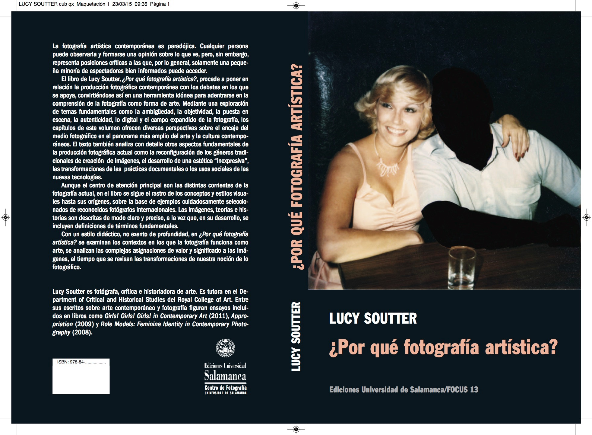 Cover Image of Why Art Photography? Spanish version