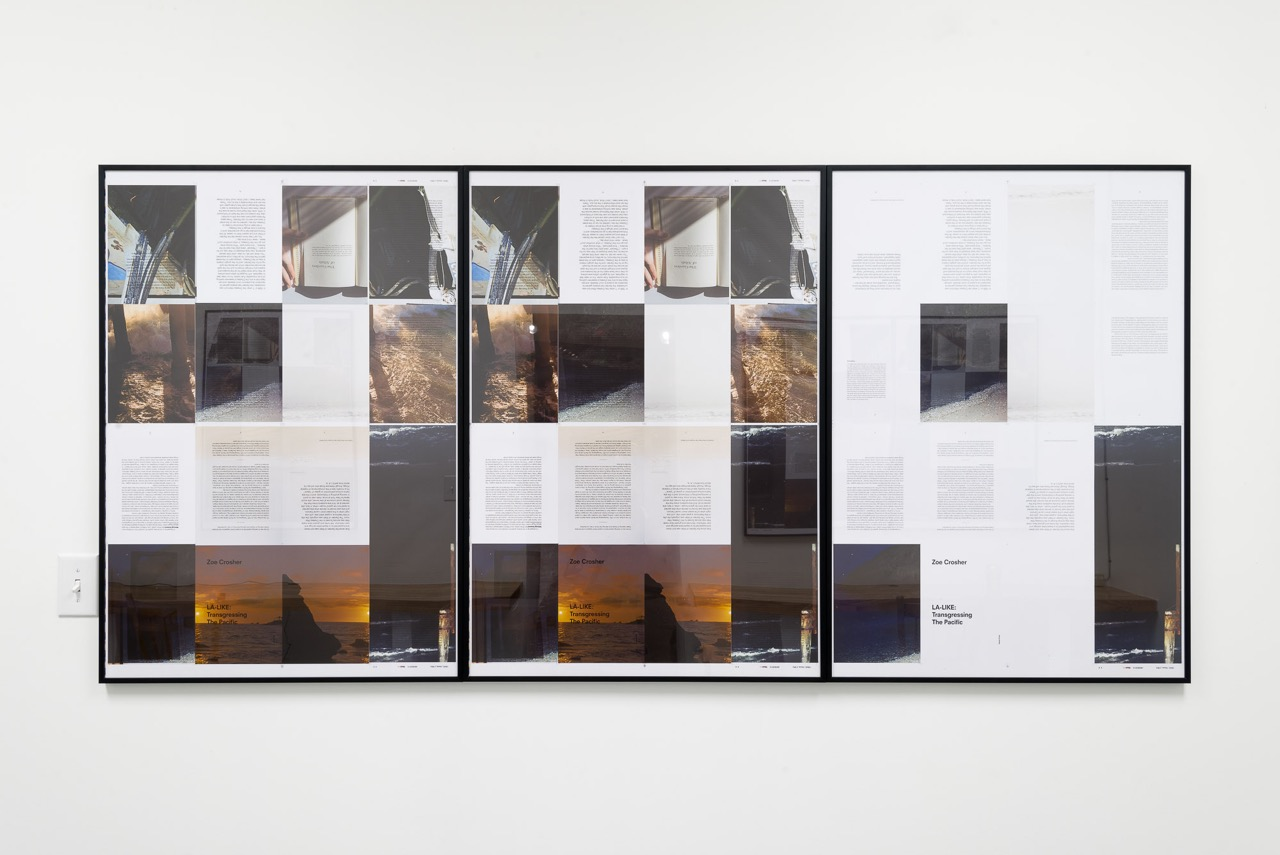 Installation Shot, Mayeur Projects, LA-LIKE: Tear Sheets