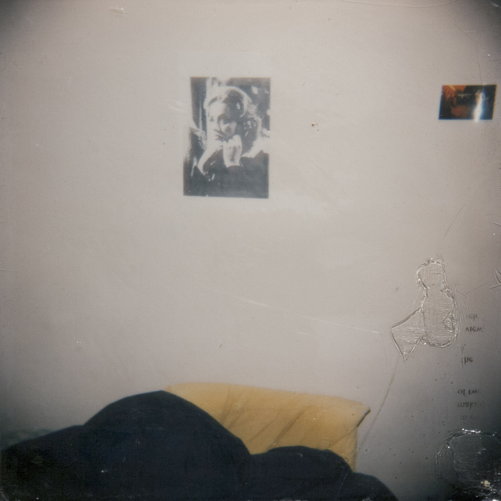 Unmade Bed (Yellow Pillow)