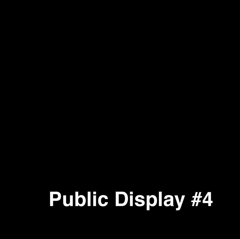 Public Display #4, p.1