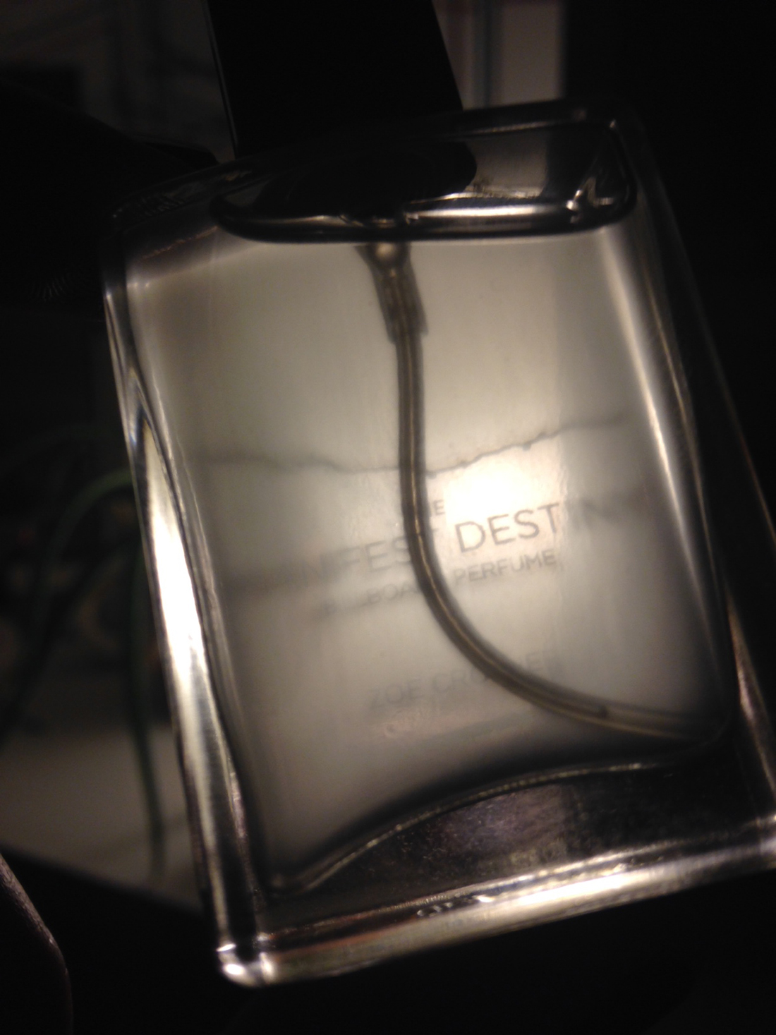The Manifest Destiny Perfume - The Cloudy Mobile Version